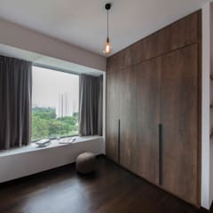 THE BELVEDERE:  Dressing room by Eightytwo Pte Ltd,Eclectic