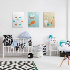 Ferris Wheel:  Nursery/kid's room by Pixers