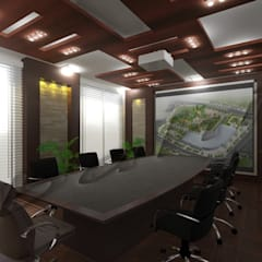 Commercial Projects:  Conference Centres by Abahir Interiors