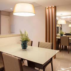 Apartamento N | H: Salas de jantar  por Only Design de Interiores