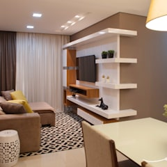 Media room by Only Design de Interiores, Modern
