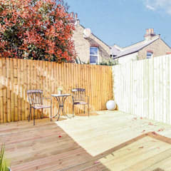 Rear Amenity Space  :  Terrace by Arc 3 Architects & Chartered Surveyors