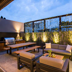 بلكونة أو شرفة تنفيذ Sobrado + Ugalde Arquitectos, حداثي