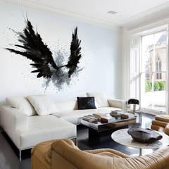 Black Wings:  Living room by Pixers