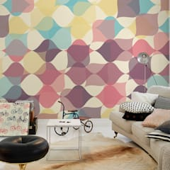 Retro Pattern:  Living room by Pixers