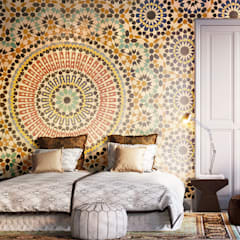 Oriental Mosaic:  Bedroom by Pixers