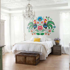 Folk: country Bedroom by Pixers