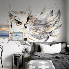 Owl:  Bedroom by Pixers