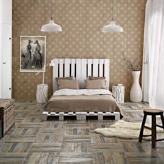 Parisian style:  Bedroom by Pixers