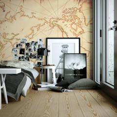 Treasure Map:  Bedroom by Pixers