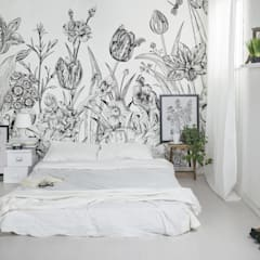 Spring Flowers:  Bedroom by Pixers