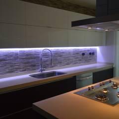 آشپزخانه by Borja Arquitectos