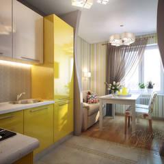 آشپزخانه by Студия Инстильер | Studio Instilier