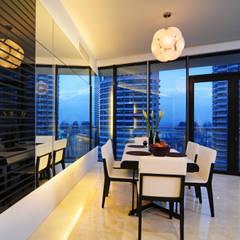 Retro Chic | CONDOMINIUM:  Dining room by Design Spirits