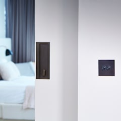 Battersea Power Station:  Bedroom by Wandsworth Electrical