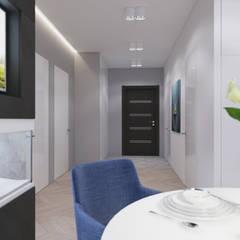 Квартира для города: Коридор и прихожая в . Автор – Ivantsov design studio