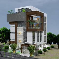 منازل تنفيذ KREATIVE HOUSE , حداثي خشب معالج Transparent