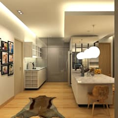 The Sanderson Home:  Dining room by inDfinity Design (M) SDN BHD