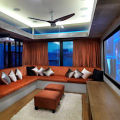 Kampung Tunku House:  Media room by MJKanny Architect, Modern