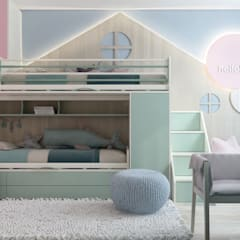 ห้องนอนเด็ก by ZIKZAK architects