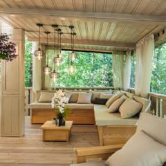 بالکن،ایوان وتراس by Tony House Interior Design & Decoration
