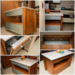 Mr & Mrs Dashe:  Kitchen by Ergo Designer Kitchens and Cabinetry