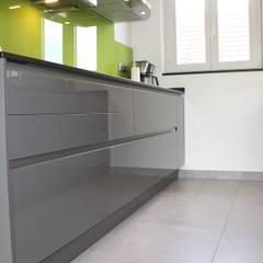 mobilier cuisine: Cuisine de style de style eclectique par Agence ADI-HOME