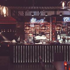 CASTELLO RESTAURANT&BAR JESSHEIM: styl , w kategorii Gastronomia zaprojektowany przez OFD architects,