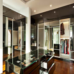 Contemporarily Dashing | BUNGALOW:  Dressing room by Design Spirits