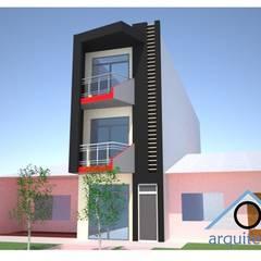 Proyecto de vivienda alquiler: Casas de estilo  por Okarq