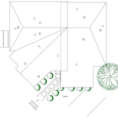 Techo: Casas de estilo  por Loft estudio C.A.