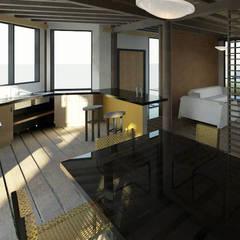 ECO - residencia: Cocinas de estilo  por Loft estudio C.A.,