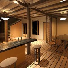 ECO - residencia: Comedores de estilo  por Loft estudio C.A.,