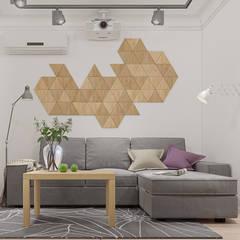 Fresh apartments: Гостиная в . Автор – Polygon arch&des