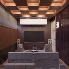 غرفة الميديا تنفيذ D-SAV     ДИЗАЙН ИНТЕРЬЕРА И АРХИТЕКТУРА