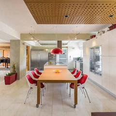 APARTAMENTO 10A GRAND EUROPA: una vivienda a 3 ritmos: Cocinas de estilo  por NMD NOMADAS,