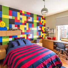 APARTAMENTO 10A GRAND EUROPA: una vivienda a 3 ritmos: Cuartos infantiles de estilo  por NMD NOMADAS
