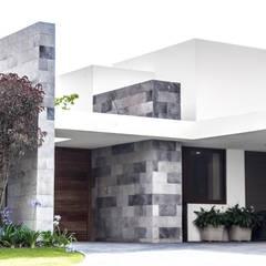 San Angel: Casas de estilo  por 2M Arquitectura
