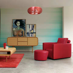Feminine Touch:  Living room by Pixers