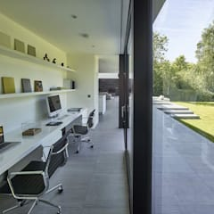 House 134: minimalistic Study/office by Andrew Wallace Architects