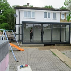 INSTANT EXTENSION:  Conservatory by JC PORTABLE SITE ACCOMMODATION LTD