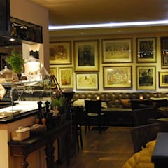Einrichtung Gastronomie YEZZ  50 Plätze:  Gastronomie von ROOMERS DESIGN