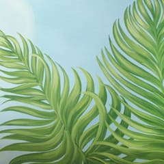 Il cielo in una stanza: Sedi per eventi in stile  di Vale murales e decorazioni