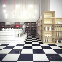 Торговые центры в . Автор – Polka architecture studio