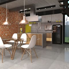 Kitchen by Teia Archdecor