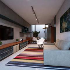 غرفة الميديا تنفيذ Lozí - Projeto e Obra