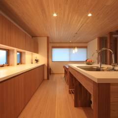 金山の家 群馬県太田市: 田村建築設計工房が手掛けたキッチンです。