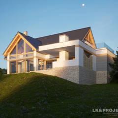 LK&1313: styl , w kategorii Ogród zaprojektowany przez LK & Projekt Sp. z o.o.