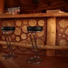 Altana w Nakle nad Notecią: styl , w kategorii Piwnica win zaprojektowany przez Organica Design & Build,