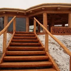 Altana w Nakle nad Notecią: styl , w kategorii Domy zaprojektowany przez Organica Design & Build